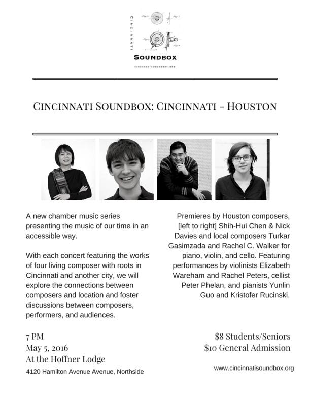 Cincinnati Soundbox- Cincinnati - Houston